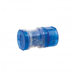 Adaptador Enchufes Universal Azul