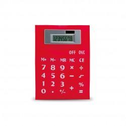 Calculadora Roll Up Rojo