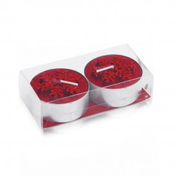 Set Velas Duo Rojo
