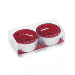Set Velas Duo Rojo
