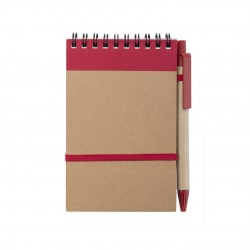Libreta Ecocard Rojo
