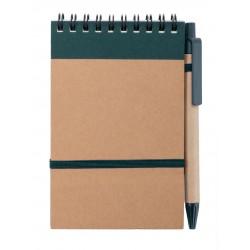 Libreta Ecocard Verde