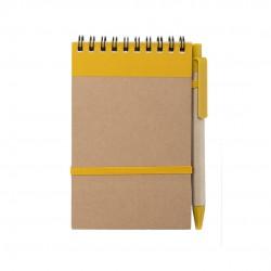 Libreta Ecocard Amarillo