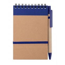 Libreta Ecocard Azul