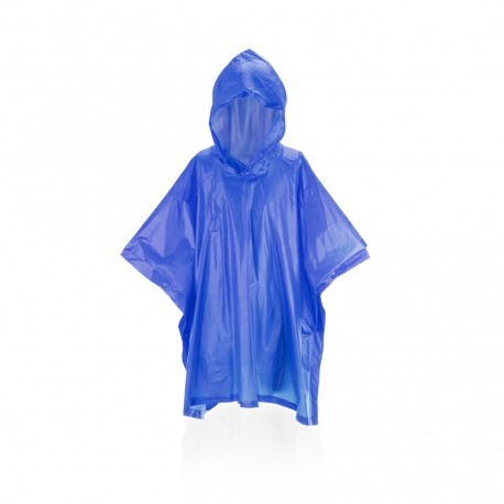 Poncho Teo Azul