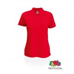 Polo Mujer 65/ 35 Rojo