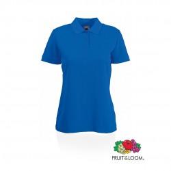 Polo Mujer 65/ 35 Azul
