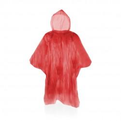 Poncho Remo Rojo