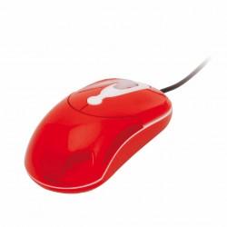 Ratón Keita Rojo