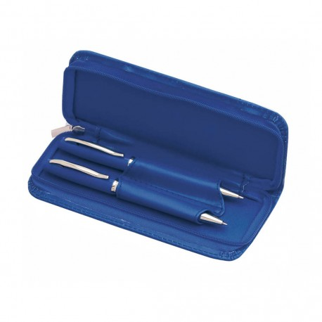 Set de bolígrafo de mecanismo giratorio y portaminas