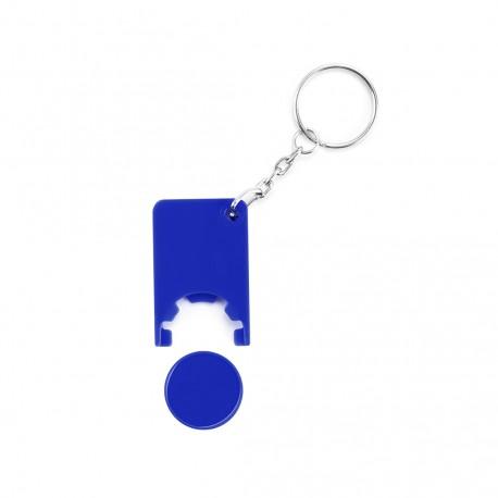Llavero Moneda Beka Azul