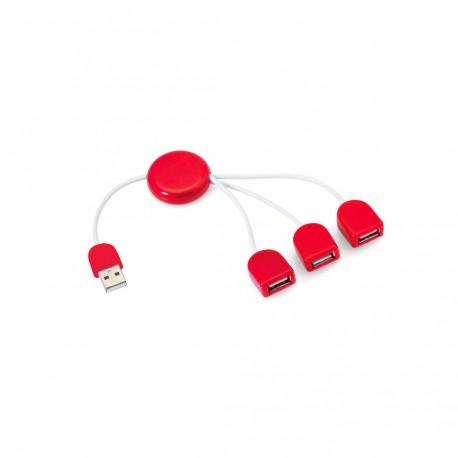 Puerto USB Pod Rojo