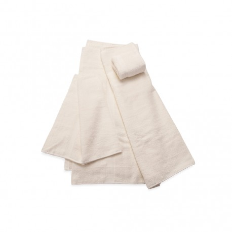Set Toallas Crater Beige