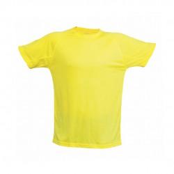 Camiseta Adulto Tecnic Plus Amarillo