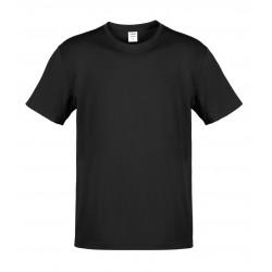 Camiseta Adulto Color Hecom Negro