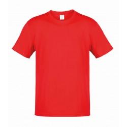 Camiseta Adulto Color Hecom Rojo