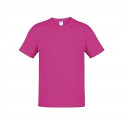 Camiseta Adulto Color Hecom Fucsia