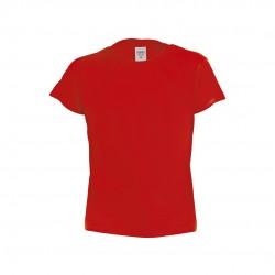 Camiseta Niño Color Hecom Rojo