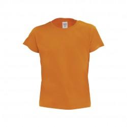 Camiseta Niño Color Hecom Naranja