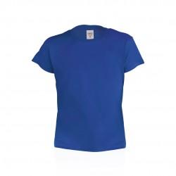 Camiseta Niño Color Hecom Azul