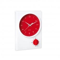Reloj Temporizador Tekel Rojo