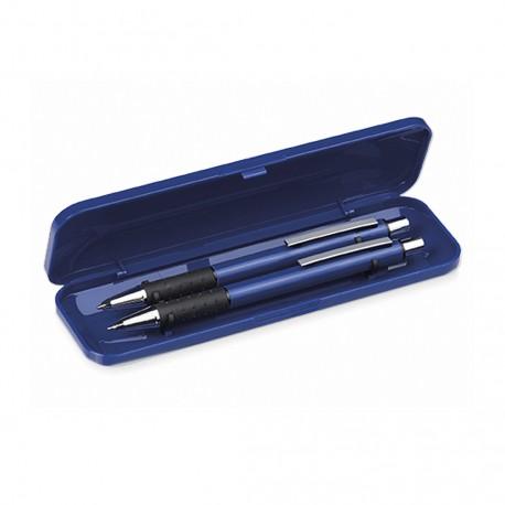 bolígrafo de mecanismo pulsador y portaminas