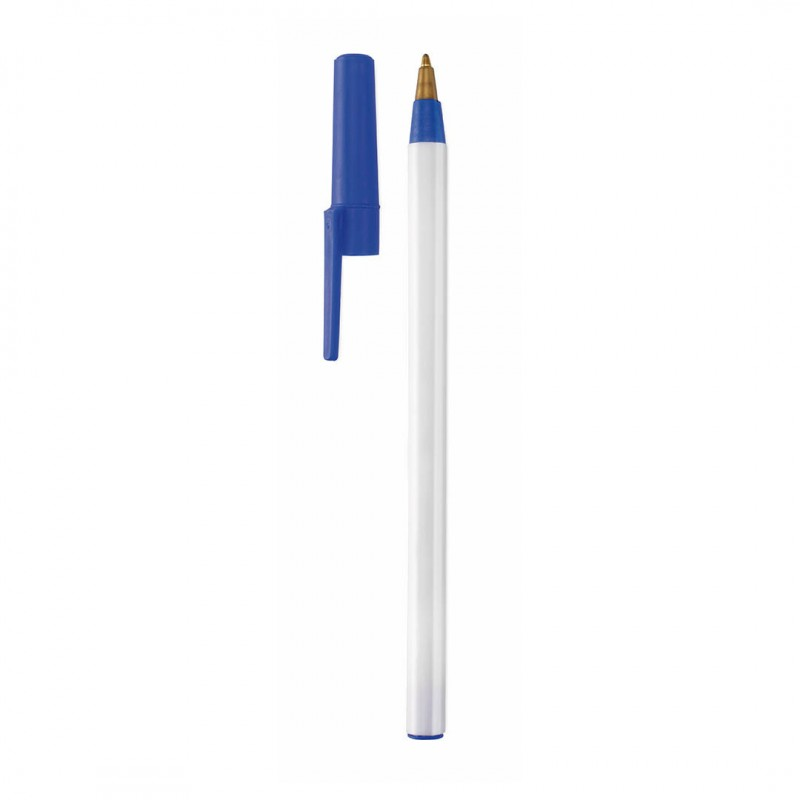 Bolígrafo Elky Blanco/Azul