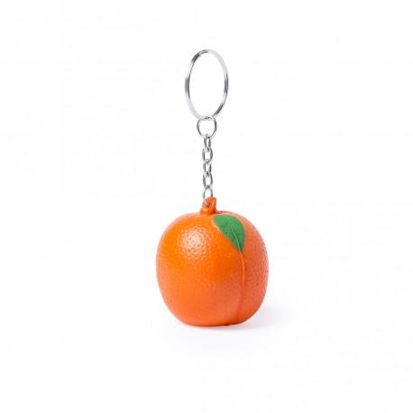 Llavero Antiestrés Fruty Naranja