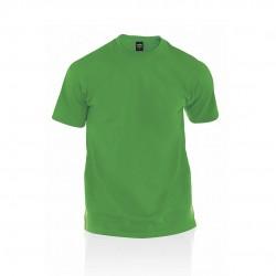 Camiseta Adulto Color Premium Verde