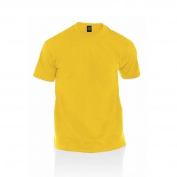 Camiseta Adulto Color Premium Amarillo