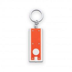 Llavero Linterna Shika Blanco/Naranja