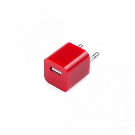 Cargador USB Radnar Rojo