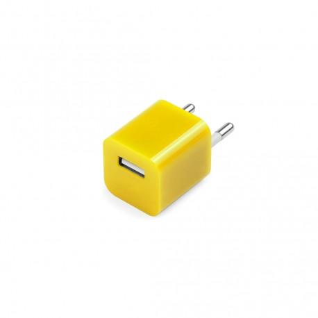 Cargador USB Radnar Amarillo