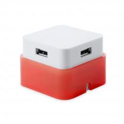 Puerto USB Dix Rojo