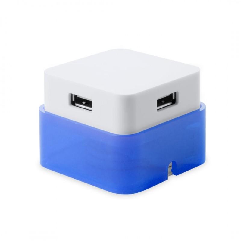 Puerto USB Dix Azul