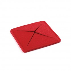 Posavasos Tanzak Rojo