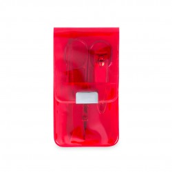 Set Manicura Silton Rojo