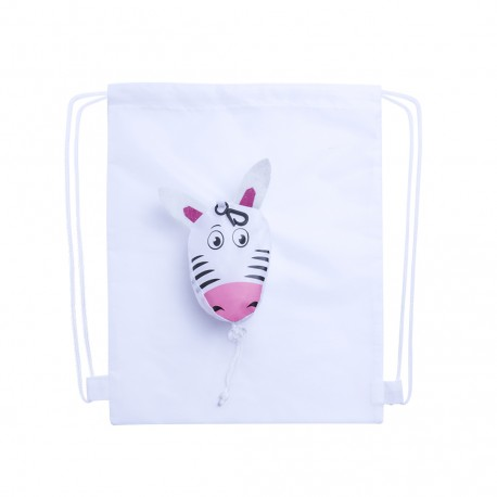 Mochila Plegable Kissa Blanco