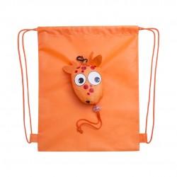 Mochila Plegable Kissa Naranja