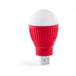 Lámpara USB Kinser Rojo