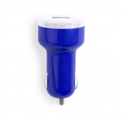 Cargador Coche USB Denom Azul