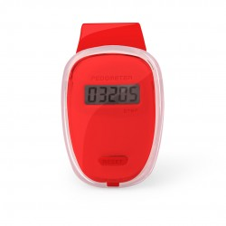 Podómetro Ferrium Rojo