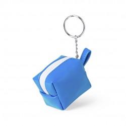 Llavero Monedero Darnex Azul Claro