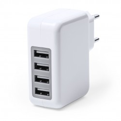 Cargador USB Gregor Blanco