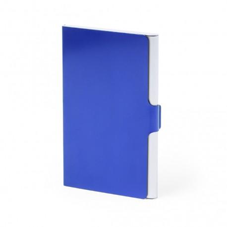 Tarjetero Gilber Azul