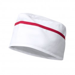 Gorro Painer Blanco/Rojo