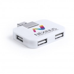 Puerto USB Glorik Blanco