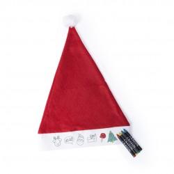 Gorro Papa Noel Niño Rupler Rojo