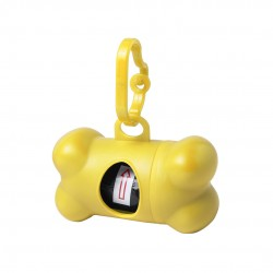 Dispensador Bolsas Rucin Amarillo
