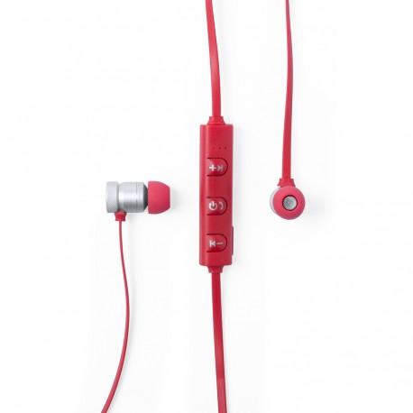 Auriculares Voltar Rojo